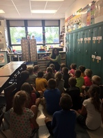 Mrs. Sheehan Reads Her Book