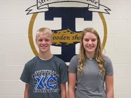 Bloemer, Waldhoff are named THS October Rookies of the Month