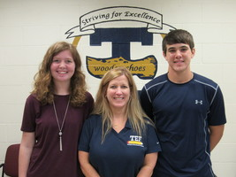 Mette, Dust are October THS Students of the Month