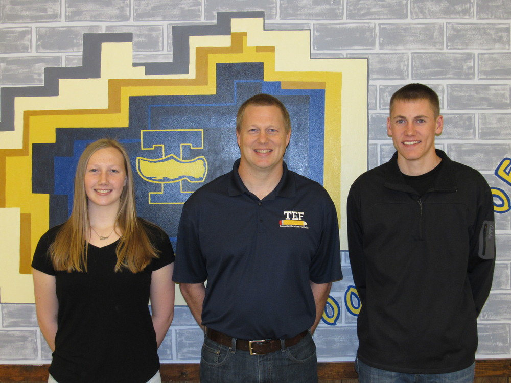 Walker, Isley are November THS Students of the Month
