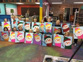 The preschool students had so much fun at the Stang Arts studio! They can't wait to go back!