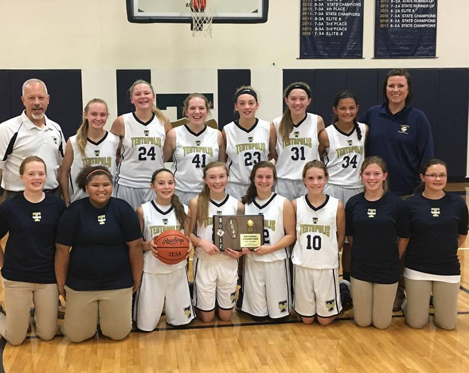8th Grade Girls Regional Champions