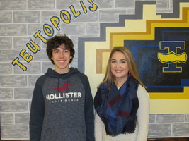 THS January Rookies of the Month are Tensen and Ruholl