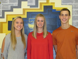 THS January Students of the Month are Hemmen and Hardiek