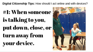 Digital Citizenship Tip #1