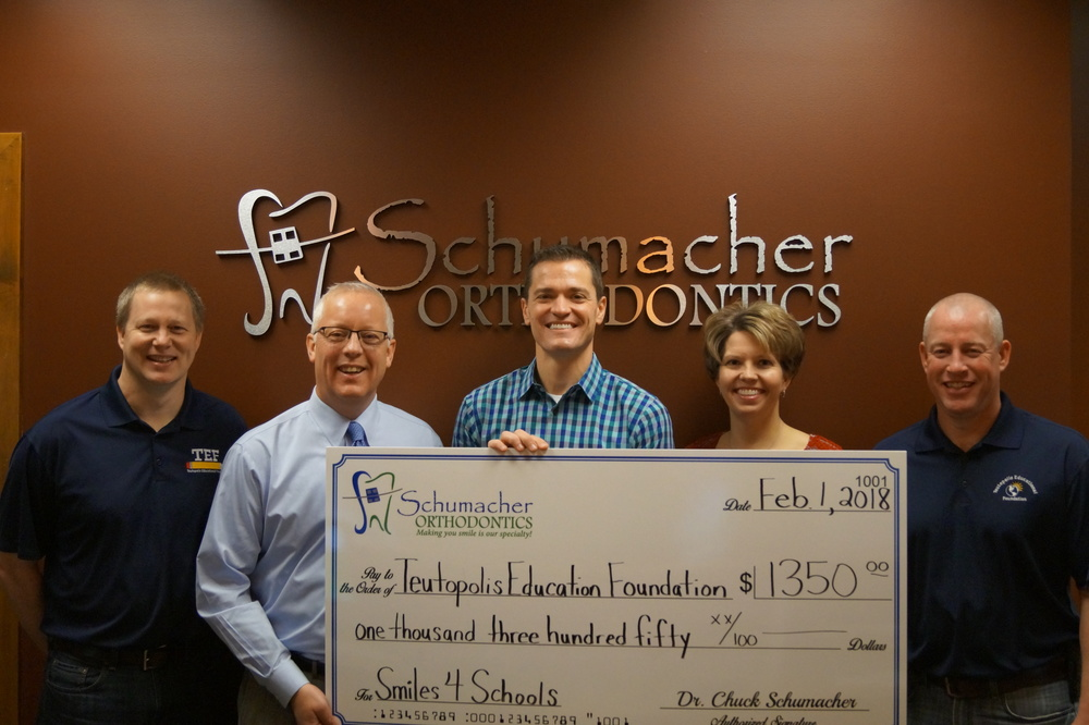 Schumacher Orthodontics Donates to TEF