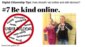 Digital Citizenship Tip #7