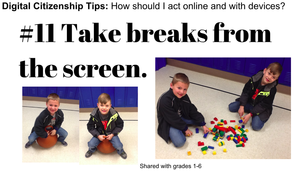 Digital Citizenship Tip #11