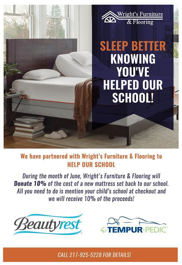 Wright's Furniture Promotion