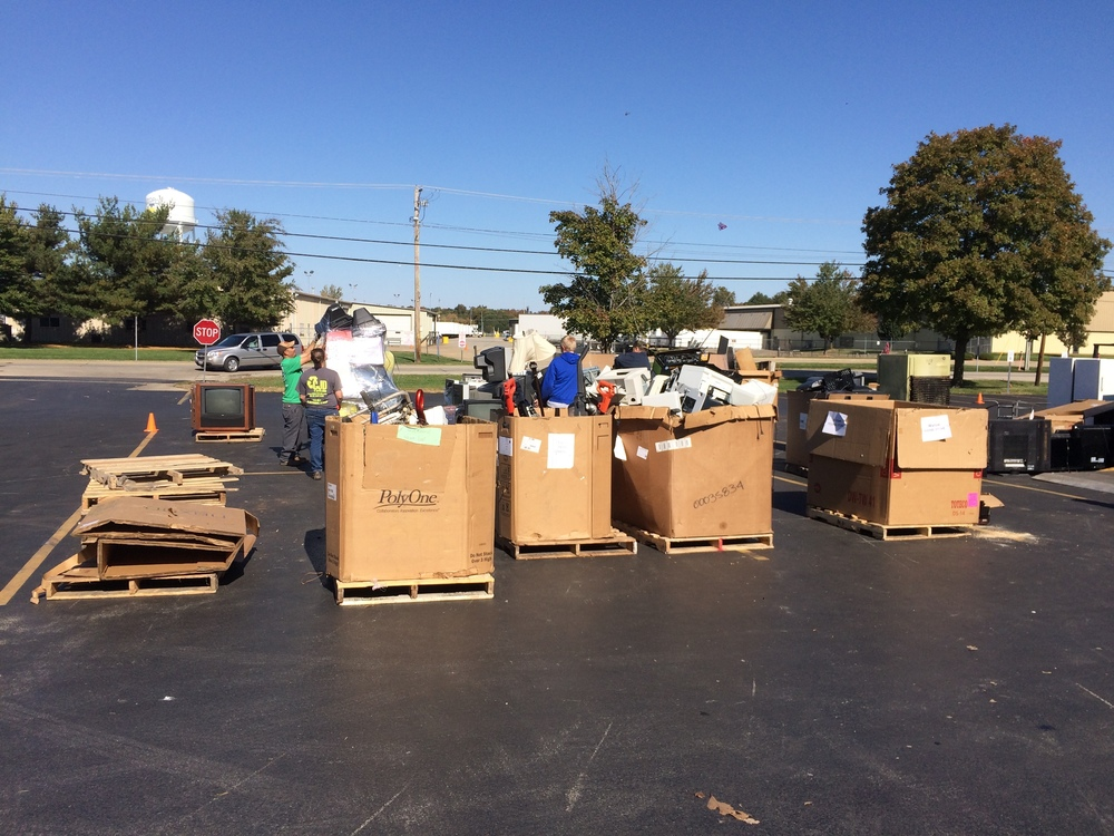 TEF Recycling Drive October 27