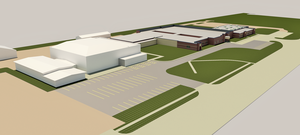 Rendering of Proposed THS Work