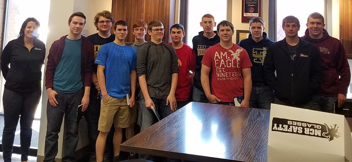 THS Computer-Aided Manufacturing classes enjoyed a tour of Stevens Industries on Wednesday. Thank you, Stevens Industries!
