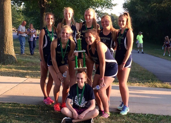 THS Girl's Cross Country Places 1st at Invite!