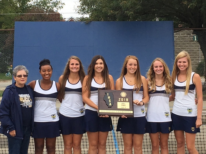 Girls Tennis Sectional Champs