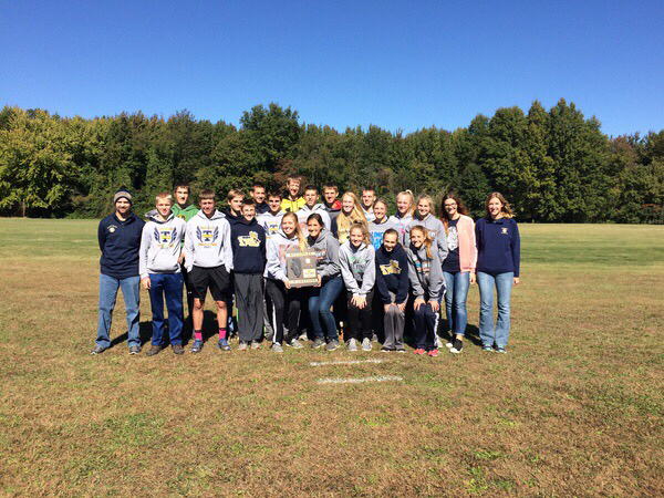 THS Boys & Girls Cross Country... on to Sectionals