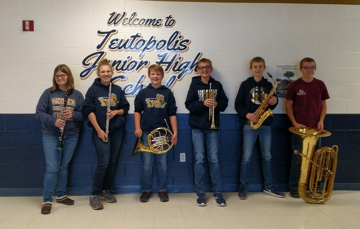 IMEA students from Teutopolis Junior High