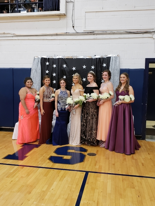 2018 THS Homecoming Court
