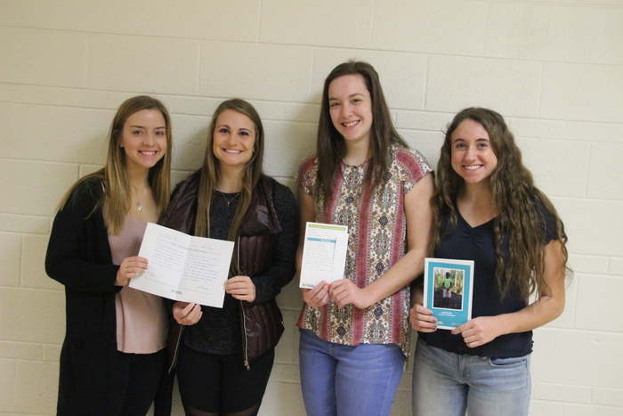Teutopolis National Honor Society is sponsoring a little girl name Cacilda from Mozambique through the Food for the Hungry . Our NHS officers, Mikayla Blankenship, Julia Hardiek, Kate Volk, and Savannah Grimes, are corresponding with her.