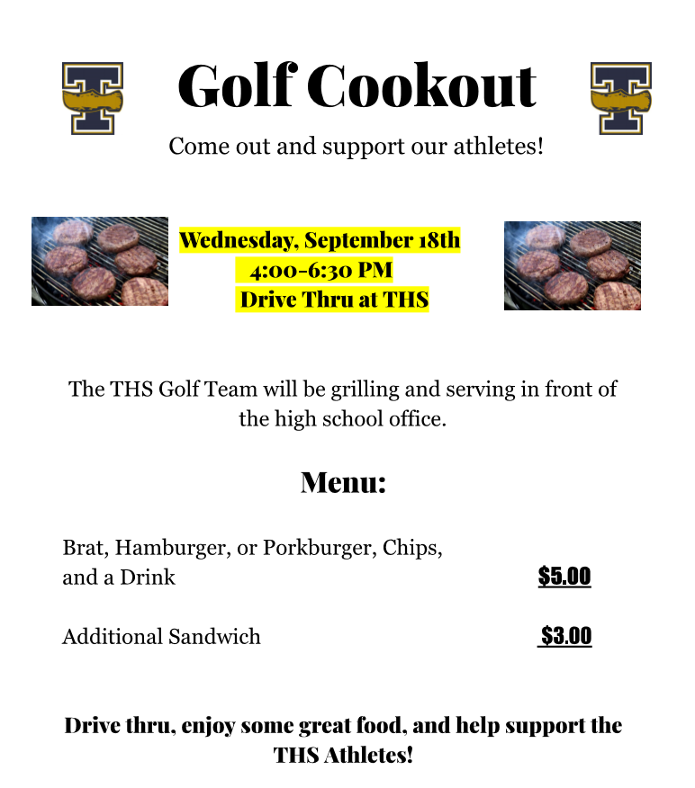 Golf Cookout