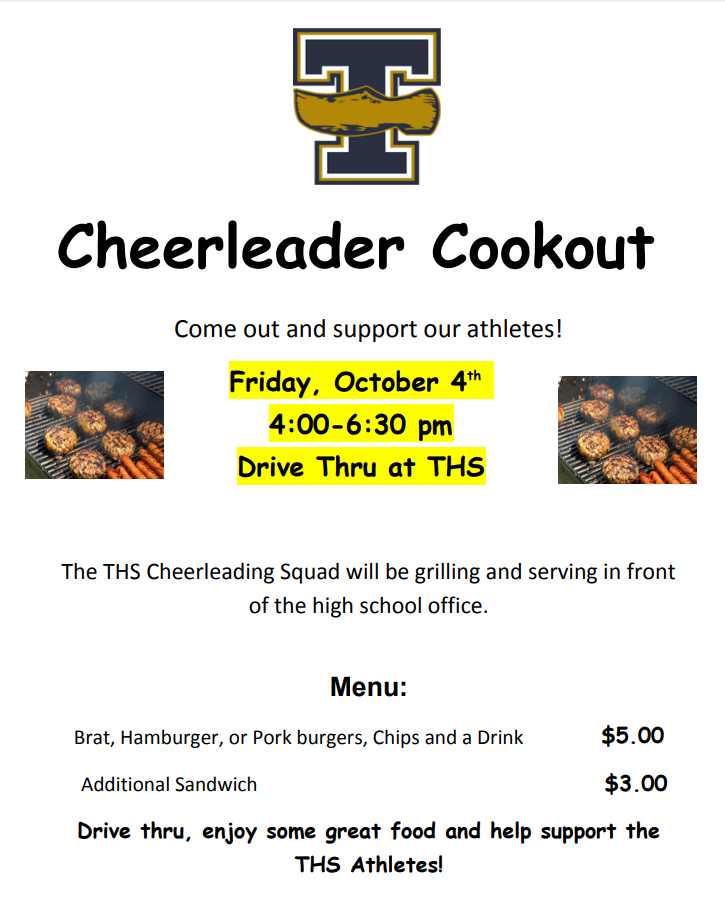Cheer Cookout