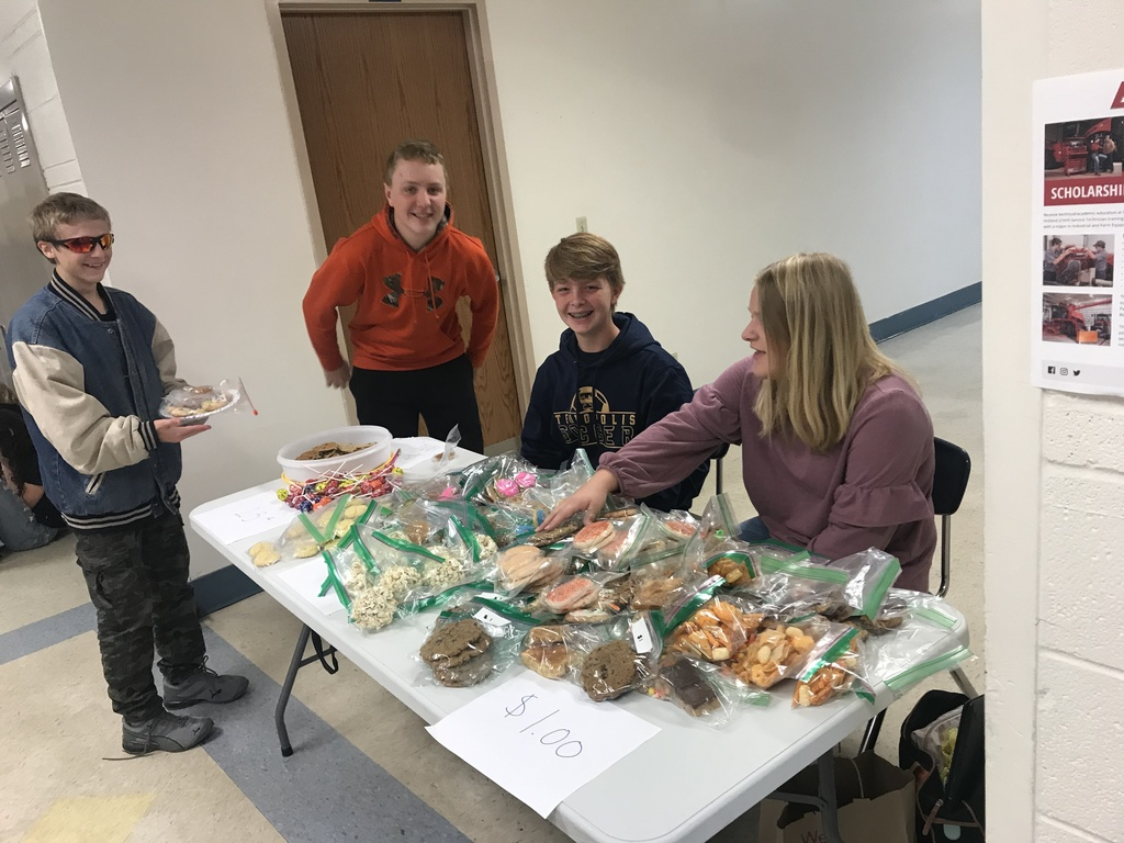 THS Volunteens Bake Sale
