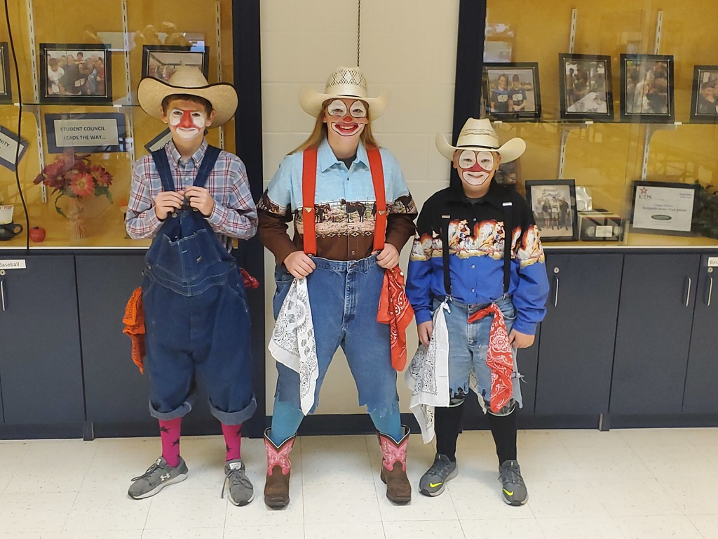 1st place Rodeo Clowns